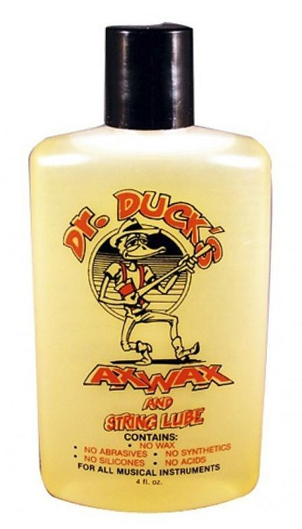 Dr Duck Ax Wax - The Ultimate Guitar Care Product?