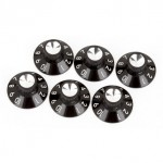 Single Fender Skirted Amplifier Knobs