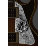 QPARTS Dirty Metal SKULL LP Pickguard